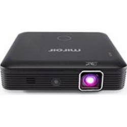 Miroir HD Mini Projector MP160, LED Lamp, with Built in Rechargeable Battery, 720p and HDMI Input