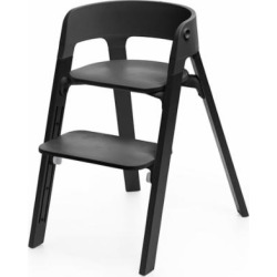 Stokke Steps Chair – Black/Black Oak