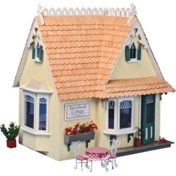 Greenleaf Storybook Cottage Dollhouse Kit – 1 Inch Scale – DH8021