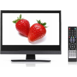 Small TV – Perfect Kitchen TV – 15.6 inch LED TV – Watch HDTV Anywhere – For Kitchen tv, RV tv, Office tv & more- FREE HD Local Channels – Small HD TV – USB, HDMI, RCA, RF & more