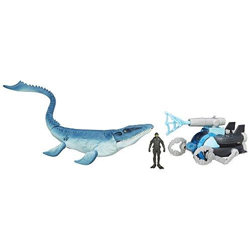 Jurassic World Mosasaurus vs. Submarine Pack