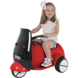 Ride on Toy, 3 Wheel Motorcycle Euro Trike for Kids – Battery Powered Ride-on