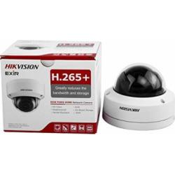 HIKVISION DS-2CD2185FWD-I 8MP IP Camera (DC12V&PoE 30m IR Built-in SD Slot H.265 IP67 IK10 3D DNR 3-axis Adjustment) (4mm)