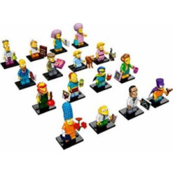 LEGO Simpsons Series 2 Complete set of 16 Minifigures (71009)