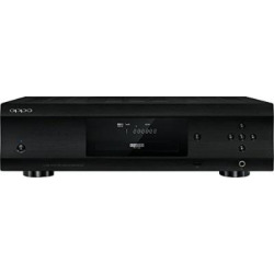 OPPO UDP-205 Region Free Ultra HD Audiophile Blu-ray Disc Player Can play Any DVD Region From 0123456789 or Any Blu Ray Zone from A,B,C on any TV.
