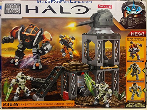 Mega Bloks, Halo, Containment Outpost Patrol (97515)