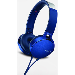 Sony XB550AP Extra Bass Headphones – Blue