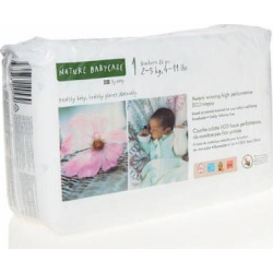 Nature Babycare Newborn Nappies (26 Nappies) by Nature Babycare