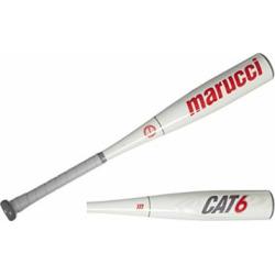 Marucci Cat 6 Junior Big Barrel Baseball Bat (2 3/4″ Barrel), 25″/15oz. (-10)