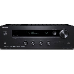 Onkyo Black Network Stereo Receiver – TX-8140