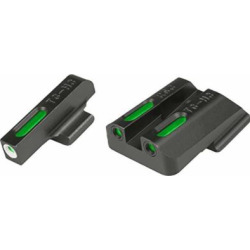 TRUGLO TFX Tritium and Fiber-Optic Xtreme Handgun Sights for Ruger Pistols