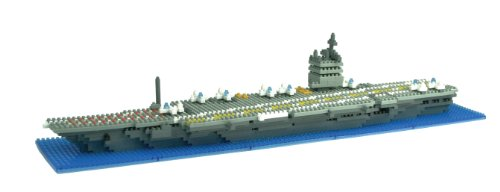 Nanoblock U.S.S. Enterprise Aircraft Carrier