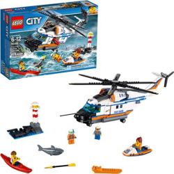 LEGO City Coast Guard 60166 Heavy-duty Rescue Helicopter
