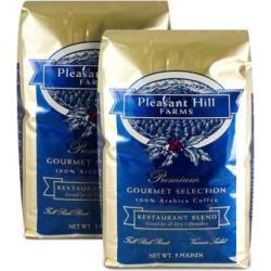 Pleasant Hill Farms Arabica Ground Coffee 5 lb. Bag 2-pack