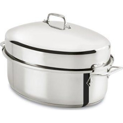 all clad e7879664 stainless steel dishwasher safe oven safe covered oval - Allshopathome-Best Price Comparison Website,Compare Prices & Save