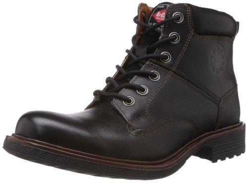 Lee Cooper Men's Black Leather Boots – 9 UK