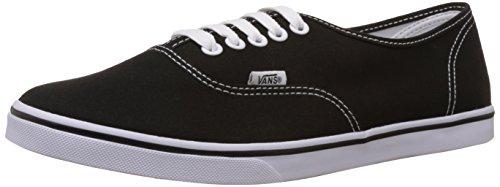 Vans Unisex Black and True White Sneakers – [5 UK (38 EU) (7.5 US) M/5 UK (38 EU) (6 US) W]