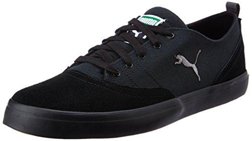 Puma Men's Funist Parade Puma Black and Steel Grey Sneakers – 9 UK/India (43 EU)
