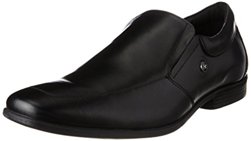 Arrow Men's Black Leather Loafers and Moccasins – 8 UK/India (42 EU)