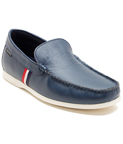 Red Tape Men's Blue Leather Loafers – 6 UK/India (40 EU)
