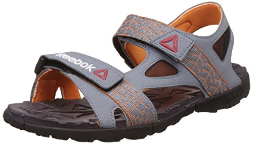 Reebok Men's Ultra Adventure Ast Dust, Nacho, Gry and Blk Flip Flops and House Slippers -11 UK/India (45.5 EU) (12 US)
