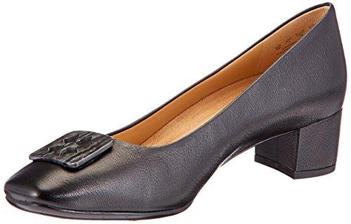 Naturalizer Women's Farin Black Leather Pumps – 6 UK/India (39 EU)(6546953)