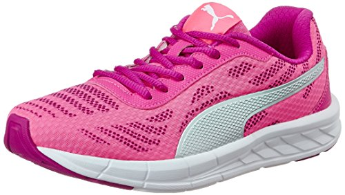 Puma Women's Meteor Wn'S Idp Knockout Pink, Ultra Magenta and Puma Silver Running Shoes – 4 UK/India (37 EU)
