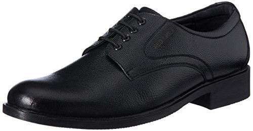 Red Chief Men's Black Leather Formal Shoes – 8 UK/India (42 EU)(RC1349A)
