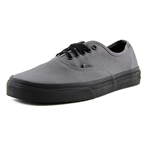 Vans Unisex Authentic (Pop Outsole) Pewter and Black Sneakers – 9 UK/India (43 EU)
