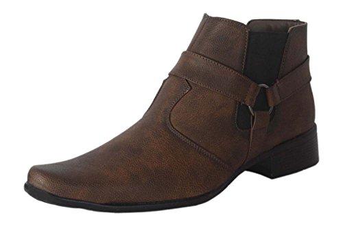 Lee Peeter Men's Brown Synthetic Boots (6 UK)