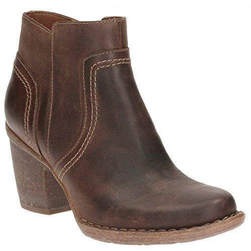 Clarks Women's Carleta Paris Brown Boots – 5 UK/India (38 EU)