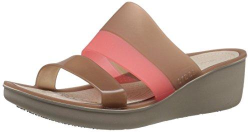 Crocs ColorBlock Wedge Women Wedges [Shoes]_200031-854-W7