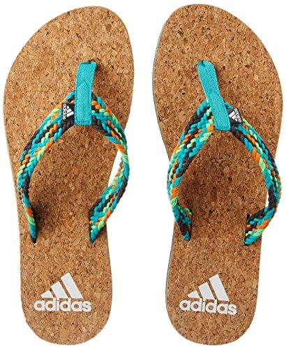adidas Women's Beach Cork Thong Ws Dgsogr, Shogrn, Sollim and Utig Flip-Flops and House Slippers – 6 UK/India (39.33 EU)