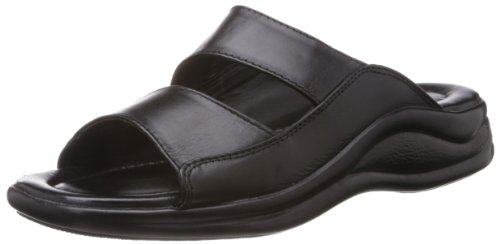 Coolers (from Liberty) Men's Black Leather Sandals and Floaters – 10 UK