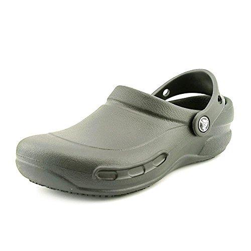 Crocs Unisex Black Rubber Clogs and Mules – M4/W6 [Shoes]_10075-001-M4W6