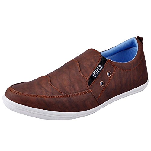 Fausto 1656-44 Brown Men's Loafers