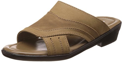 Coolers (from Liberty) Men's Brown Leather Hawaii Thong Sandals – 8 UK/India (42 EU)