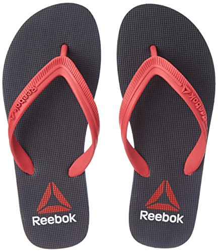 Reebok Women's Avenger Flip Coll Navy and Blazing Pink Flip-Flops and House Slippers – Plastic Moulded – 5 UK/India (38 EU)(7.5 US)