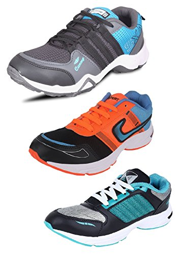 Tempo Men's Combo Pack of 3 Sports Shoes