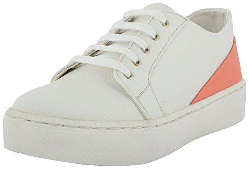 Kyosei Women's White Sneakers – 36 EU