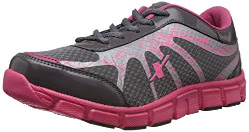 Sparx Women's Grey and Pink Mesh Running Shoes – 5 UK (SX0071L)