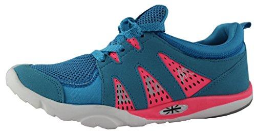 Lee Cooper Women's Blue Running Shoes – 6 UK/India (39 EU)