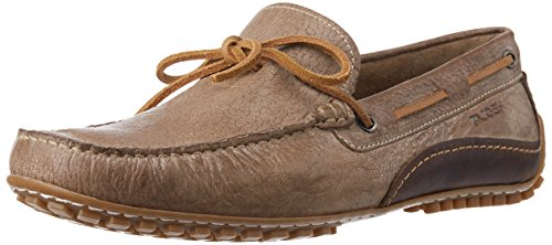 Ruosh Men's SETI 1 B Brown Leather Loafers and Mocassins – 10 UK/India (44 EU)(11 US)