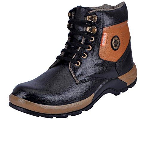 Fausto 3109-43 Black Men's Boots