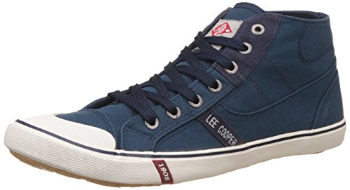 Lee Cooper Men's Navy Sneakers – 8 UK/India (42 EU)