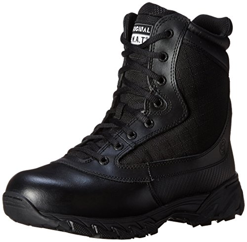 Original S.W.A.T. Men's Chase 9 Inch Side-zip Tactical Boot, Black, 7 D US