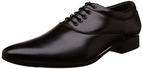 Auserio Men's Black Formal Shoes – 7 UK/India (41 EU)(SS 153)