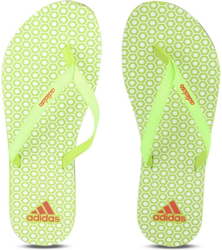 adidas beach print max out 2ws flip flops -