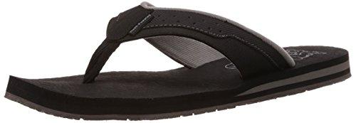 Hush Puppies Men's Vector 1-Ms Black Flip Flops Thong Sandals – 7 UK/India (41 EU)(8716984)