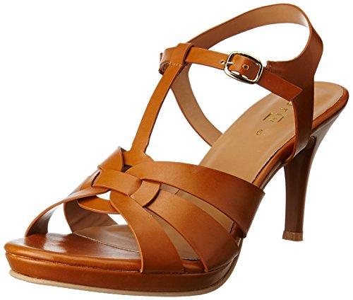 Footin Women's Brown Fashion Sandals – 4 UK/India (37 EU)(7617754)